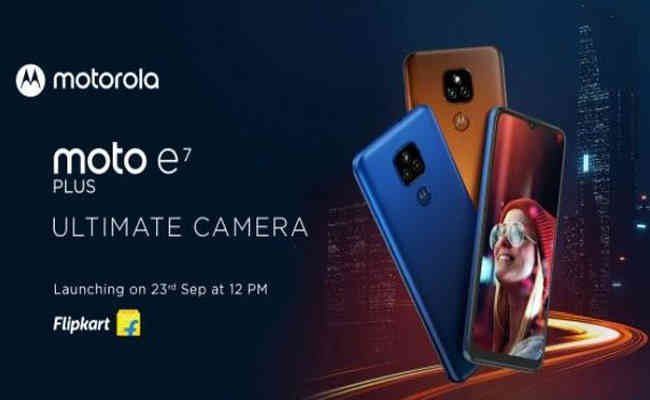 Motorola unveils moto e7 plus with a 48MP f/1.7 dual camera pr