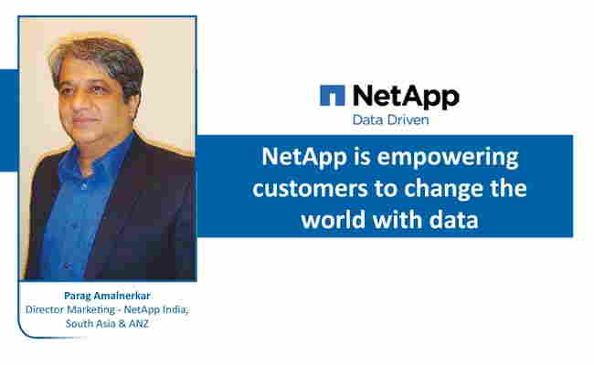 Netapp is empowering customers to change the world with data