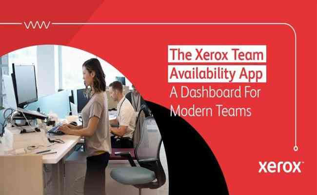 New Xerox Team Availability App Supports Flexible Workplace Needs