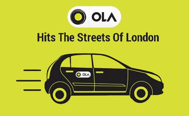Ola hits the streets of London