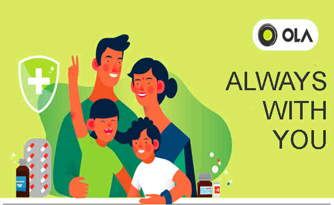 Ola offers coverage of up to Rs. 30,000 for driver-partners and their spouses affected by COVID-19