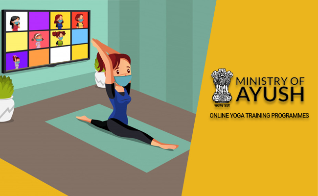 The high quality online Yoga training programmes offered by the Ministry