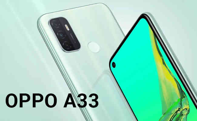 OPPO launches A33 with 90Hz Punch Hole Display