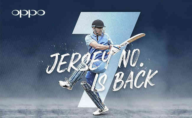 Oppo signs MS Dhoni for #BeTheInfinite campaign