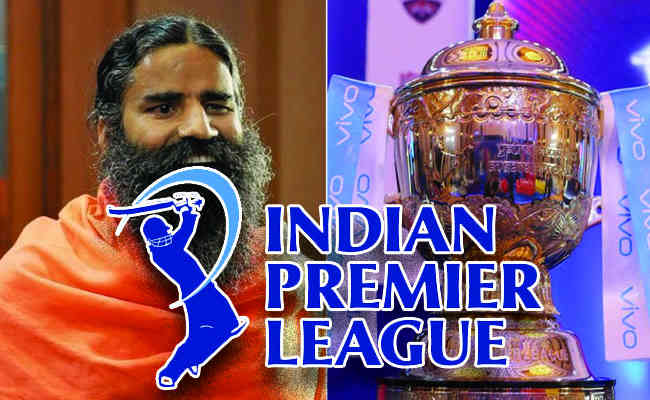 Patanjali to bid for the title sponsorship for IPL