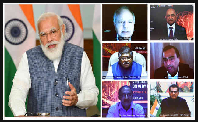 PM's address at the inauguration of 'Responsible AI for Social Empowerment 2020' Summit