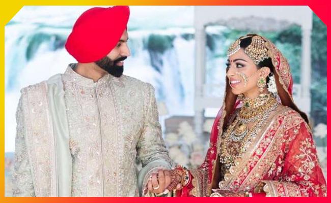 Punjabi singer Parmish Verma marries his Canadian politician f