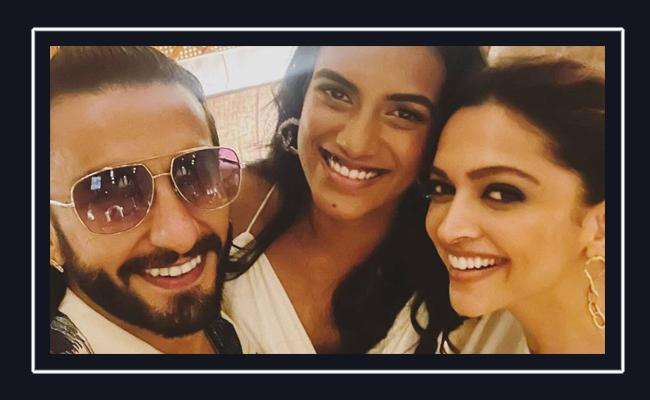 Ranveer Singh, Deepika Padukone go on a dinner date with this badminton star