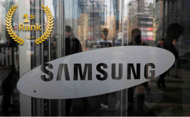 Samsung regains its number 1 position in the India Smartphone