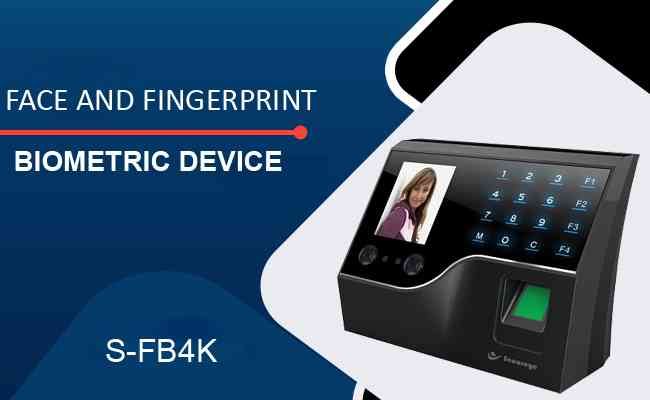 Secureye brings S-FB4K, a face and fingerprint biometric devic