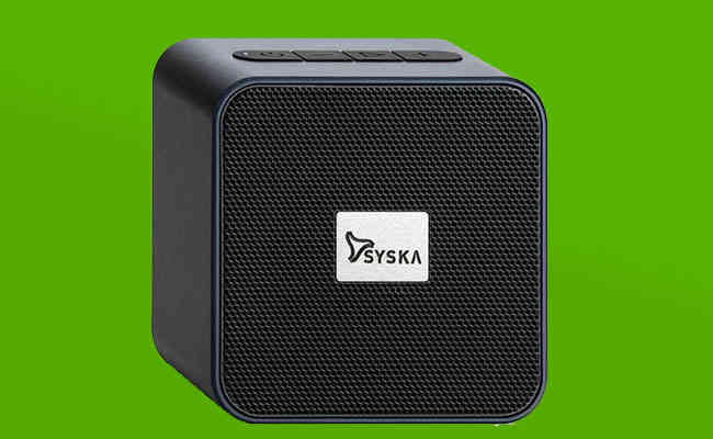 Syska launches its latest BT4070X Powerful Bass Wireless Speaker