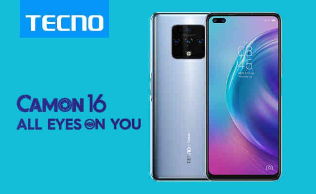 TECNO unveils TECNO CAMON 16