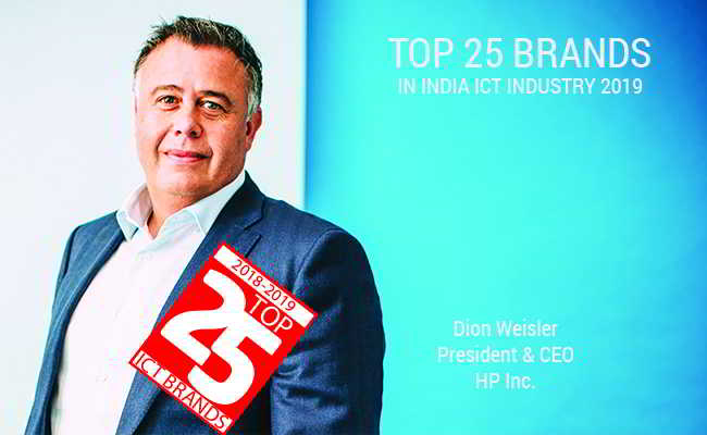 HP Inc.    - Top 25 Brands in indian ICT Industry