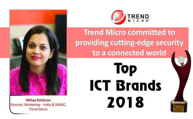 TOP ICT BRANDS 2018: TREND MICRO INDIA PVT. LTD.