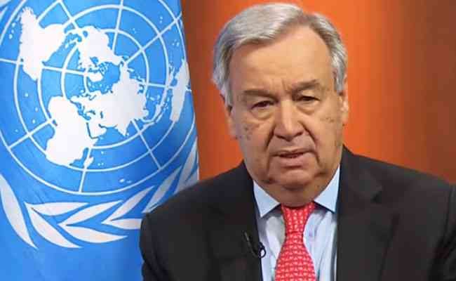 UN Chief calls for immediate global ceasefire in all corners of the world