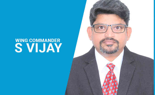 Wing Commander S Vijay takes over the reins of Skye Air Mobili