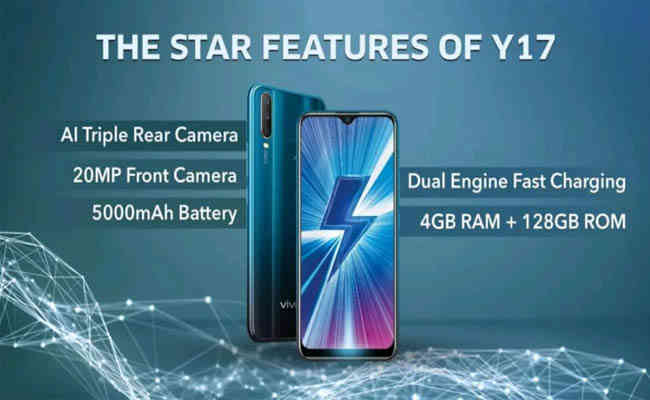 05b1d8efbc2 MY BRAND BOOK Vivo Launches Triple Camera Camera Phone Y17 In India