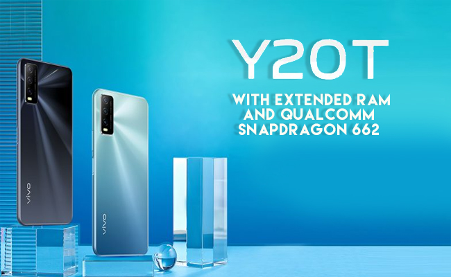 vivo rolls out Y20T with extended RAM and Qualcomm Snapdragon