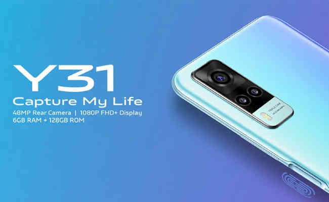 vivo unleashes Y31 with 48MP AI triple camera