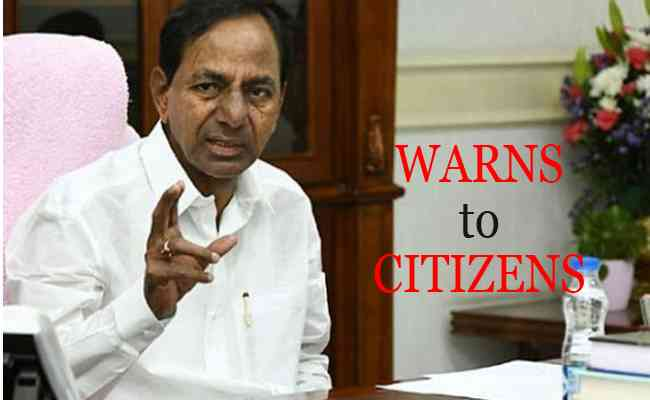 Telangana CM warns citizens to stay at home or will be forced