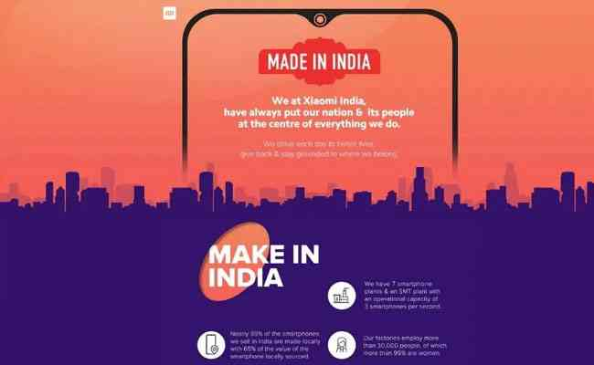 Xiaomi puts 'Made in India' branding on its retail stores