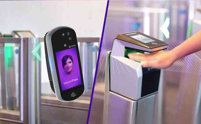 Your new security access code with IDEMIA's MorphoWave™ contactless 3D fingerprint scanning technology