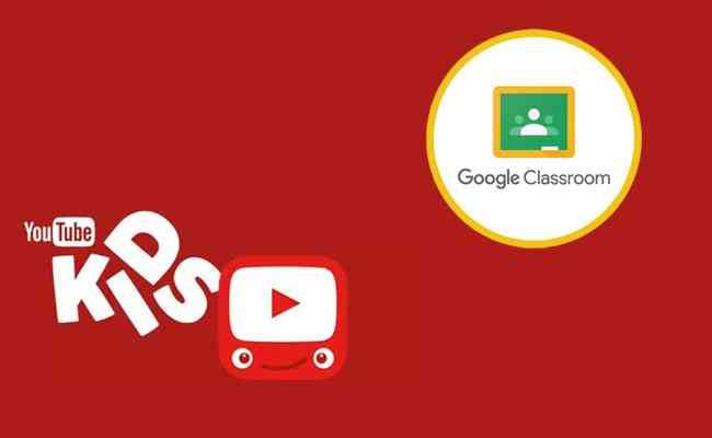 YouTube Kids and Google Classroom downloaded in highest number