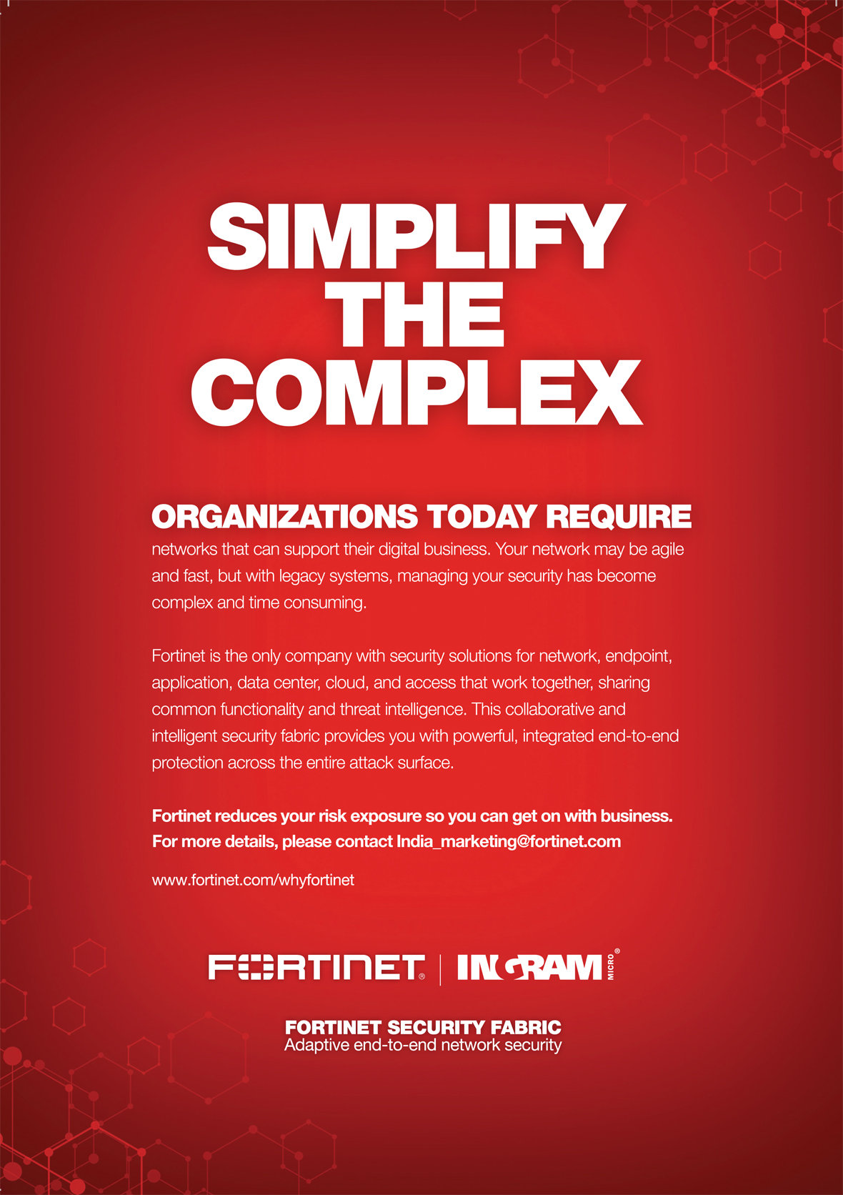 fortinet - Most Advertisement Brand by My Brand Book