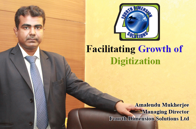 Top IT Brand- Amalendu Mukherjee Managing Director Fourth Dimension Solutions Ltd