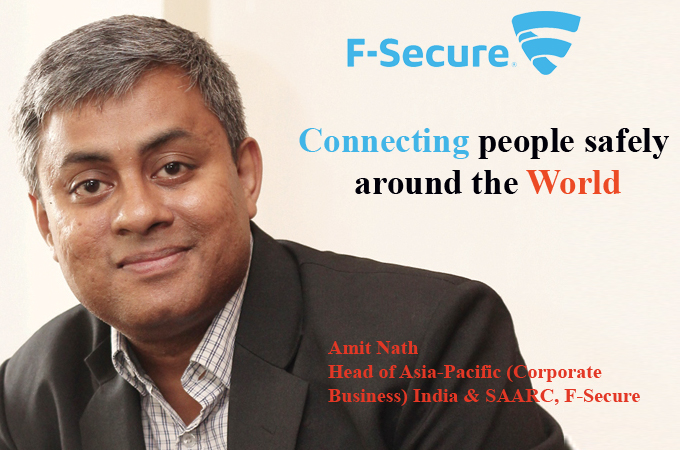 Top IT Brand-Amit Nath Head of Asia-Pacific (Corporate Business) India & SAARC, F-Secure