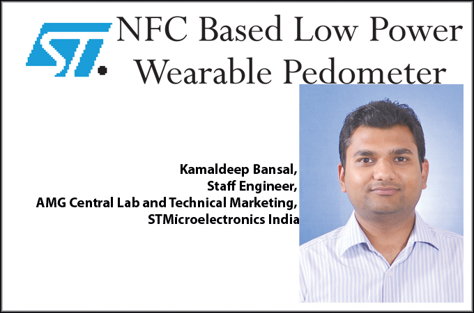 NFC Based Low Power Wearable Pedometer