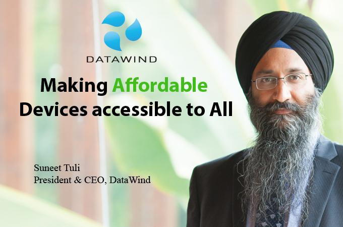 Top IT Brand - Suneet Tuli President & CEO, DataWind