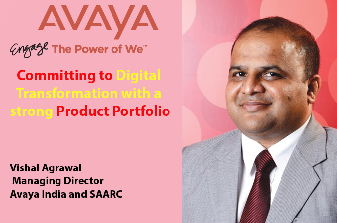 top it brand - Vishal Agrawal Managing Director Avaya India and SAARC