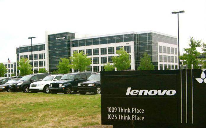 lenovo data center market