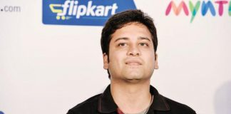 Binny Bansal, CEO, Flipkart