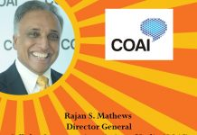 Icon of india-Rajan S. Mathews Director General - COAI