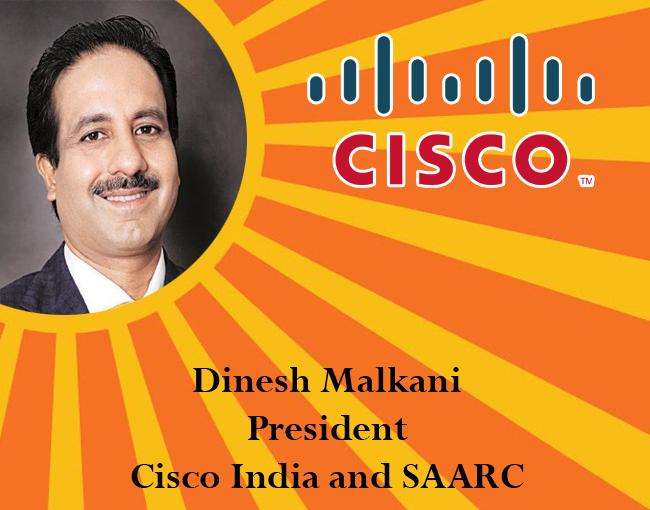 icon of india - Dinesh Malkani, President, Cisco India and SAARC