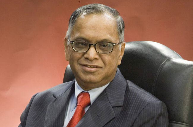 icon of india-N R Narayana Murthy co- founded Infosys