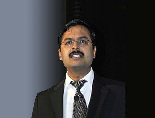 Anil Menon, CEO, CMS COMPUTER LTD