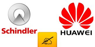 Schindler and Huawei sign global agreement